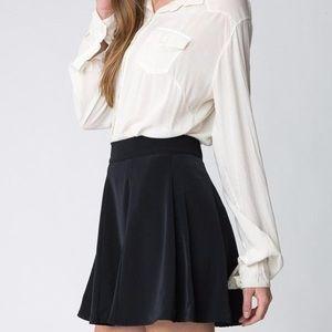 Brandy Melville / J. Galt Black Skater Skirt